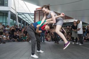 Behind the scenes video: swing dancing