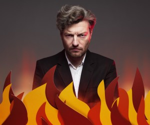 """Preview: Charlie Brooker interview, """"I shouldn't swear, I'm in a playground."""""""