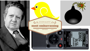 Journalists' most embarrassing mistakes
