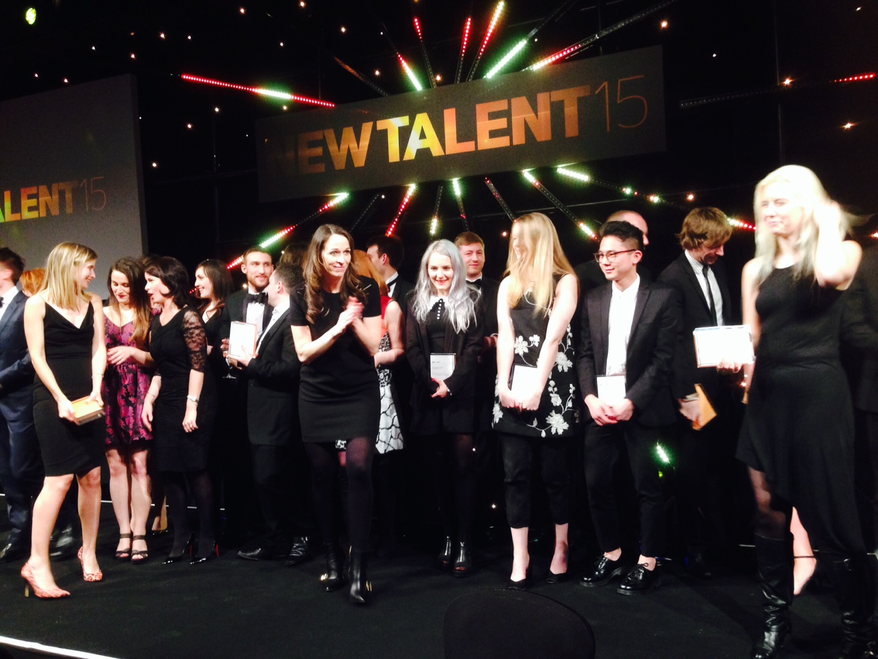 All the winners gather at the PPA awards