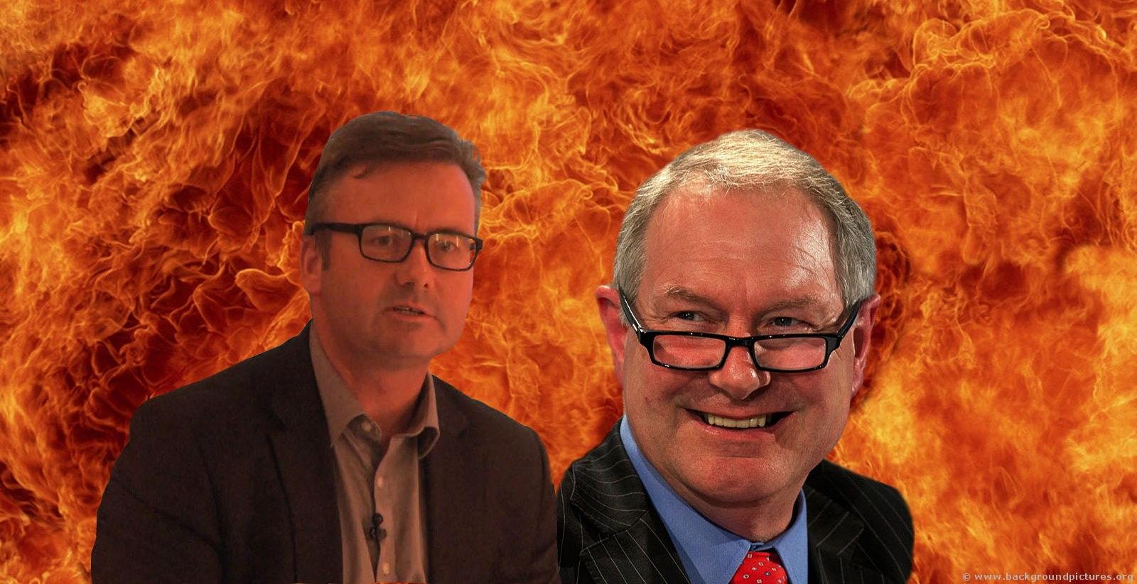 Roy GReenslade and john Battle, Quizmasters