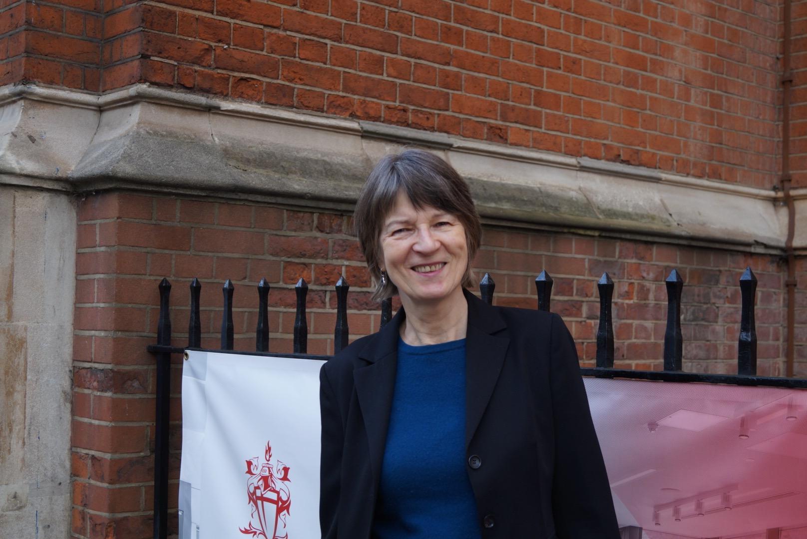 Barbara in 2018.