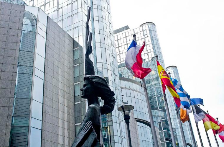 Landmark EU building in Brussels