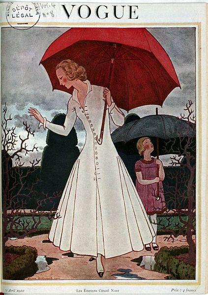 Cover of British Vogue, 1922.