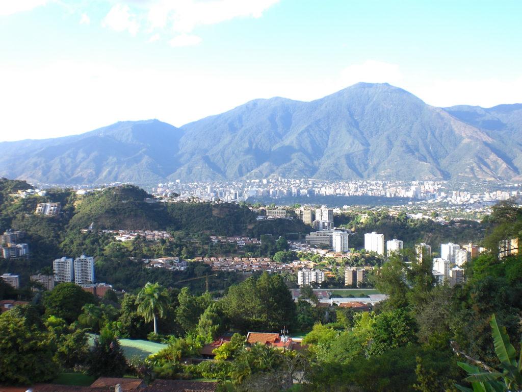 View of Caracas from Cerro Verde