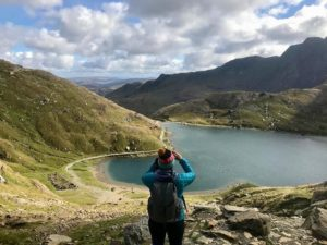 Nicola Trup in Snowdonia National Park, North Wales