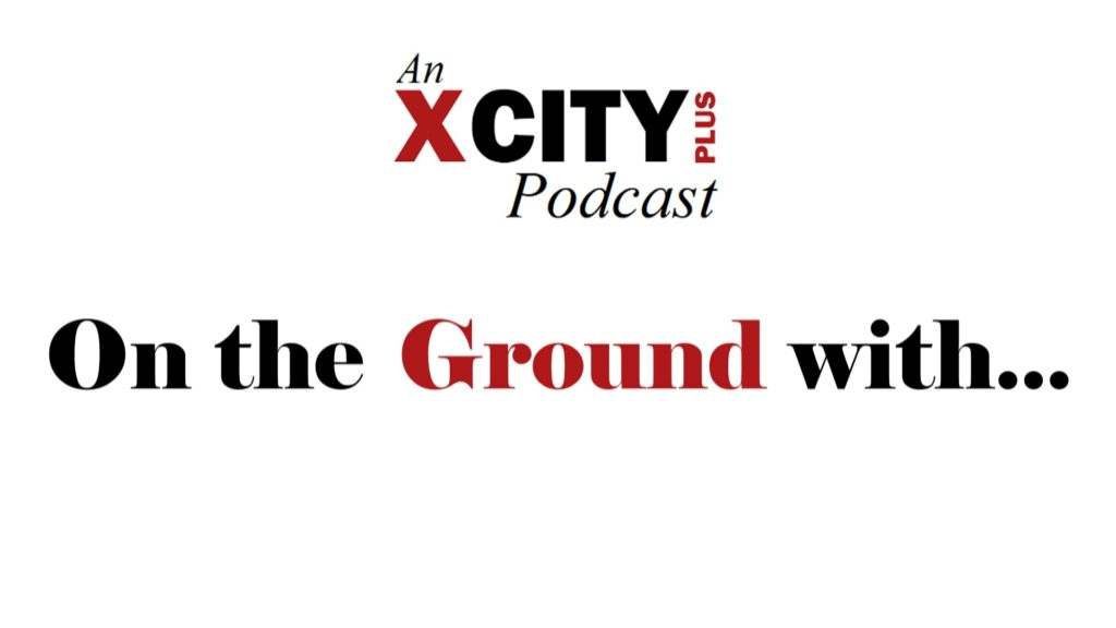 Text: An City Plus (logo) podcast